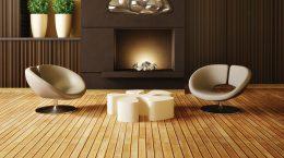 Les planchers de bois sont super en décoration