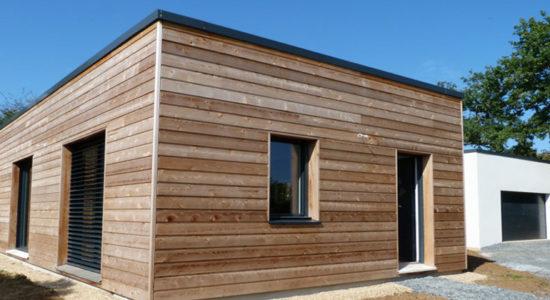 bardage bois maison