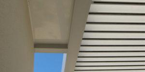 lames de toit d'abri terrasse