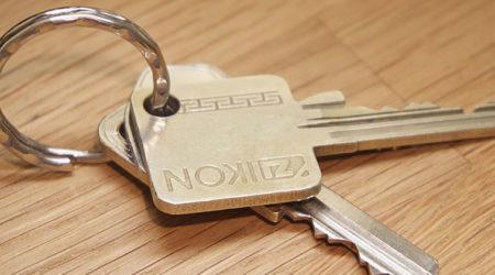 illutration de clefs d'appartement