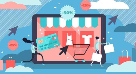 La création site e-commerce.