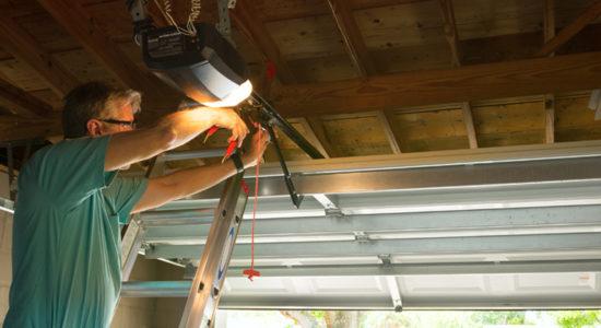 Installation de portes de garage