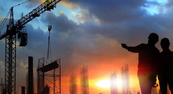 Une entreprise de construction