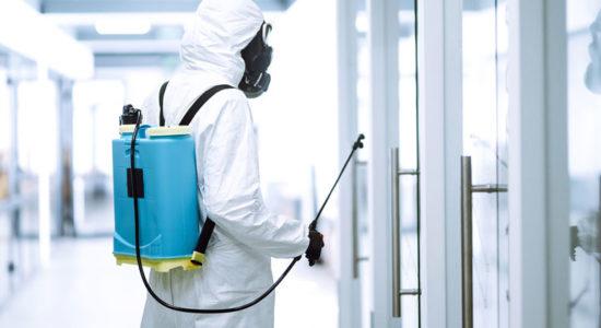 Nettoyage professionnel coronavirus