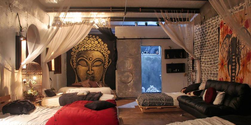 décoration bouddhiste