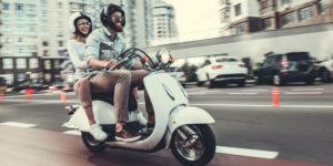 un scooter d'occasion