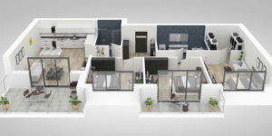 Plans de maisons rectangulaires