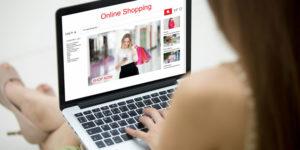 shopping vêtements en ligne